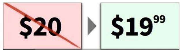 Уменьшите левое число на единицу